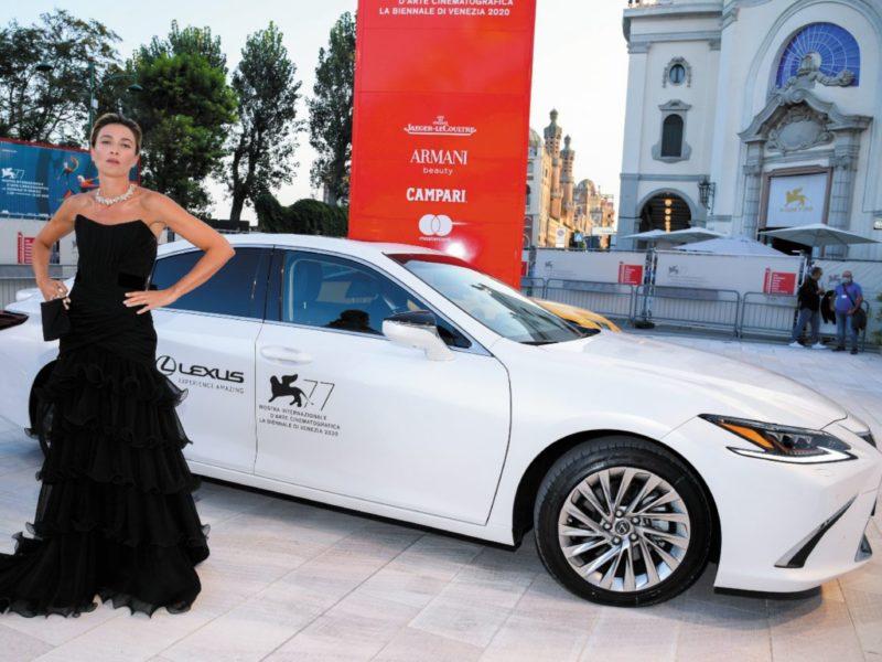 Lexus 77 edizione festival cinema Venezia MOBILE