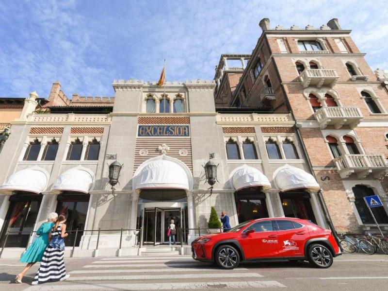 Lexus Electrified Lexus auto ufficiale festival cinema venezia 2020