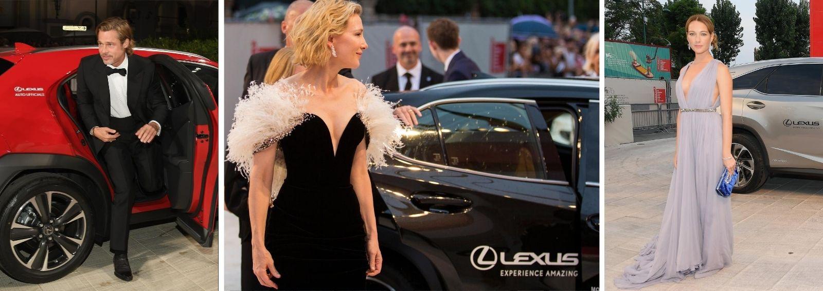 Lexus auto ufficiale festival cinema venezia 2020 DESK
