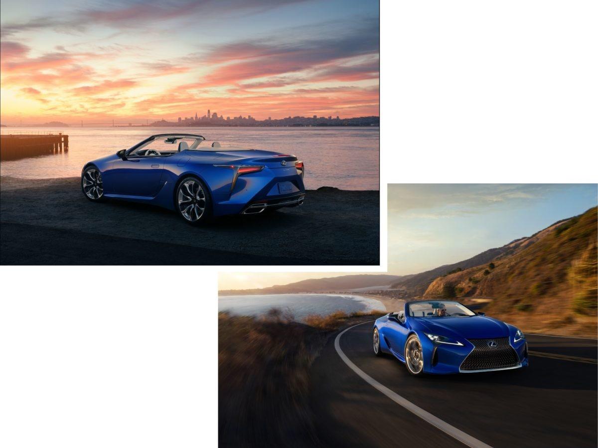 Lexus auto ufficiale festival cinema venezia 2020 LC Convertible Lexus