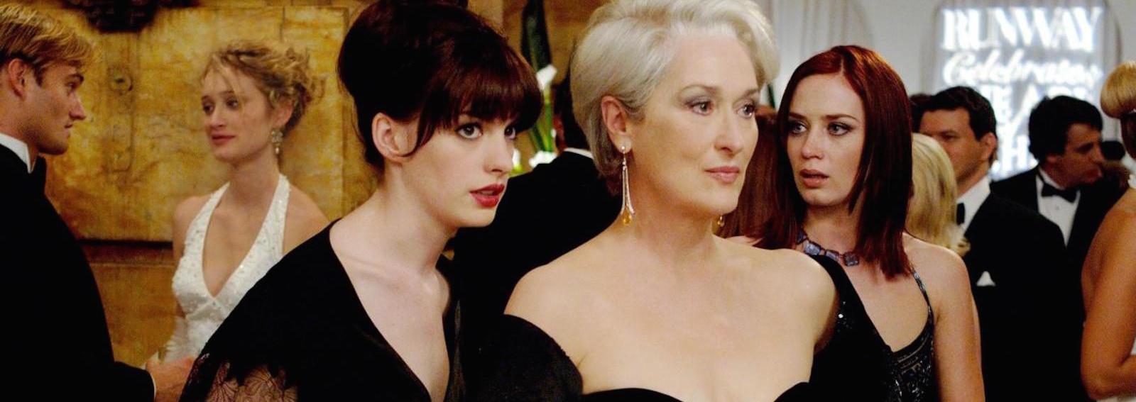 Maryl Streep abito nero