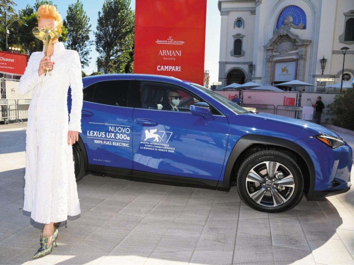 Red Carpet Venezia 2020 Mostra del Cinema Lexus auto ufficiale 10