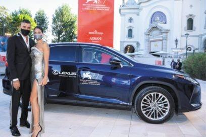 Red Carpet Venezia 2020 Mostra del Cinema Lexus auto ufficiale 16