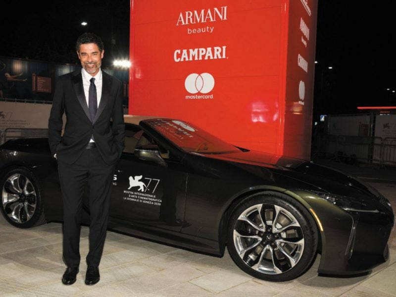 Red Carpet Venezia 2020 Mostra del Cinema Lexus auto ufficiale 22