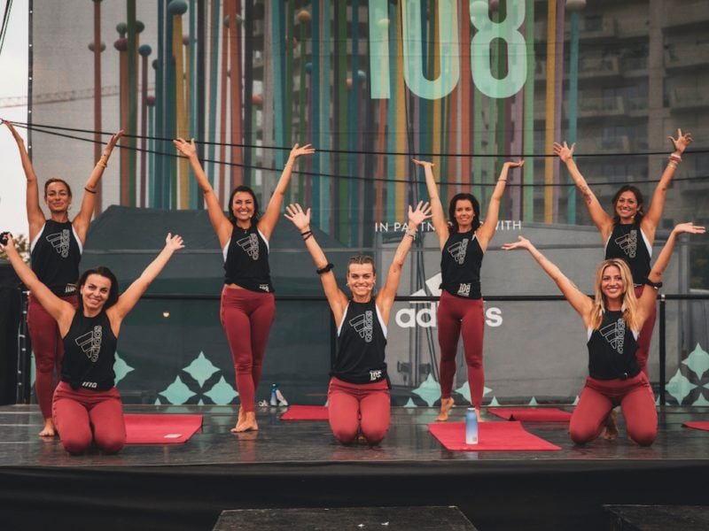 Wanderlust 108 Milano corsa yoga meditazione adidas abbigliamento yoga
