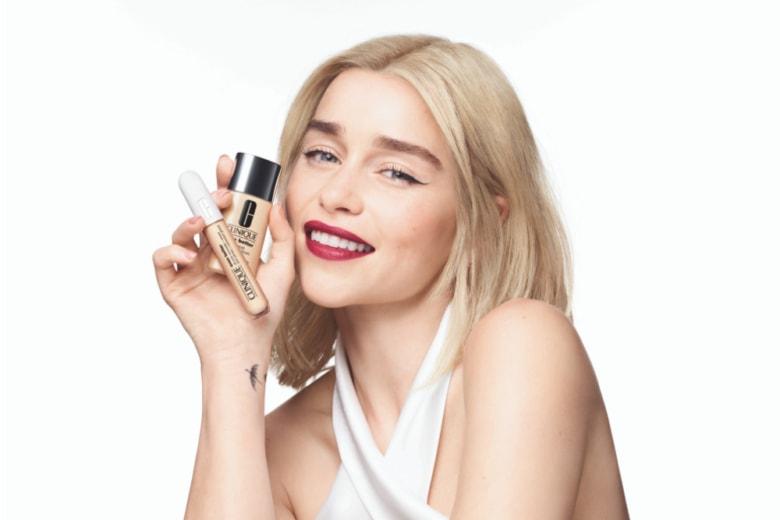 Emilia Clarke è la nuova ambassador della linea make-up di Clinique