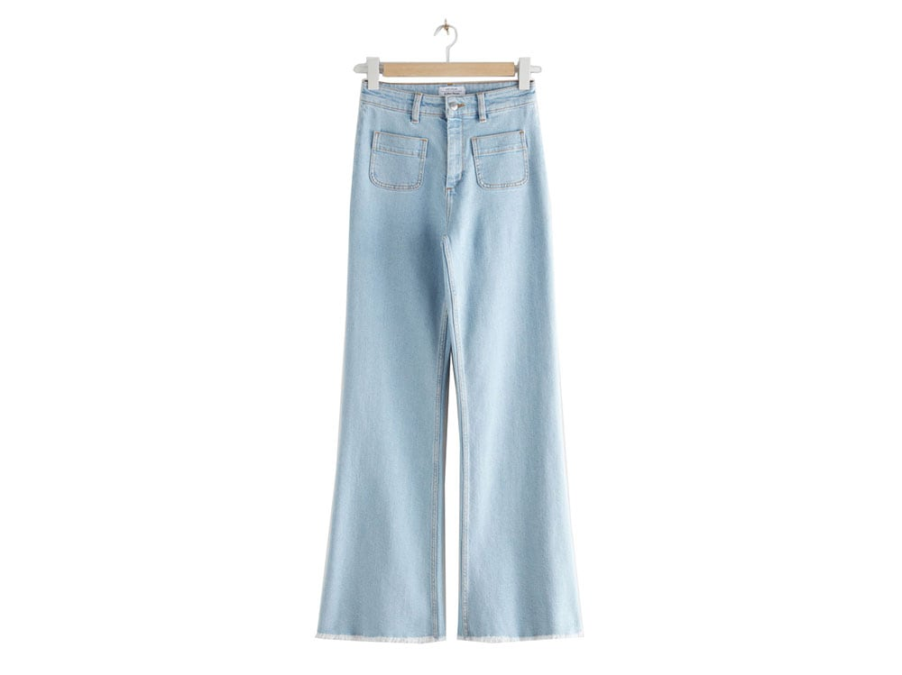 jeans-flare-con-taschine-davanti-and-other-stories