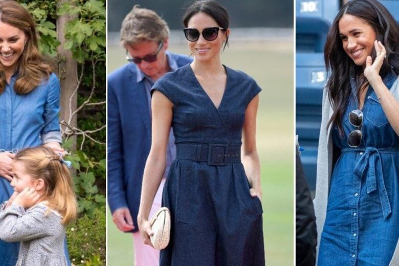 L'abito più easy-chic del momento? Quello in denim (parola di Kate e Meghan)!