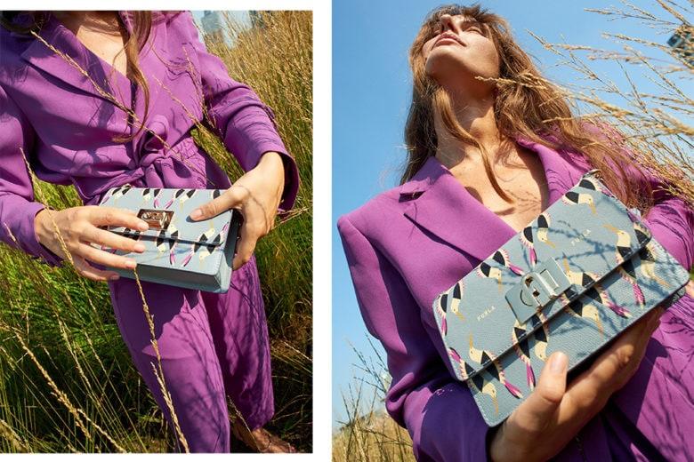 Licia Florio alla scoperta della città con le nuove borse Furla FW 20