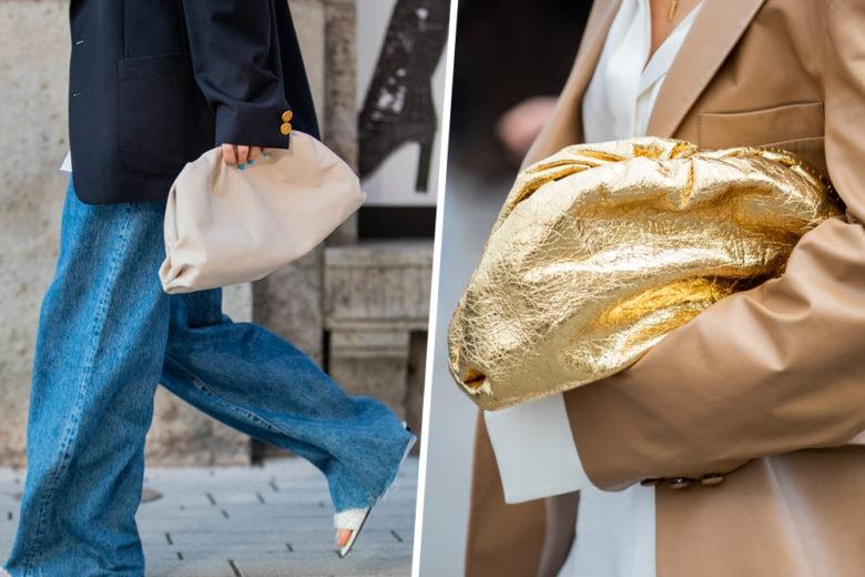 La borsa che più fa gola? La clutch effetto bignè!