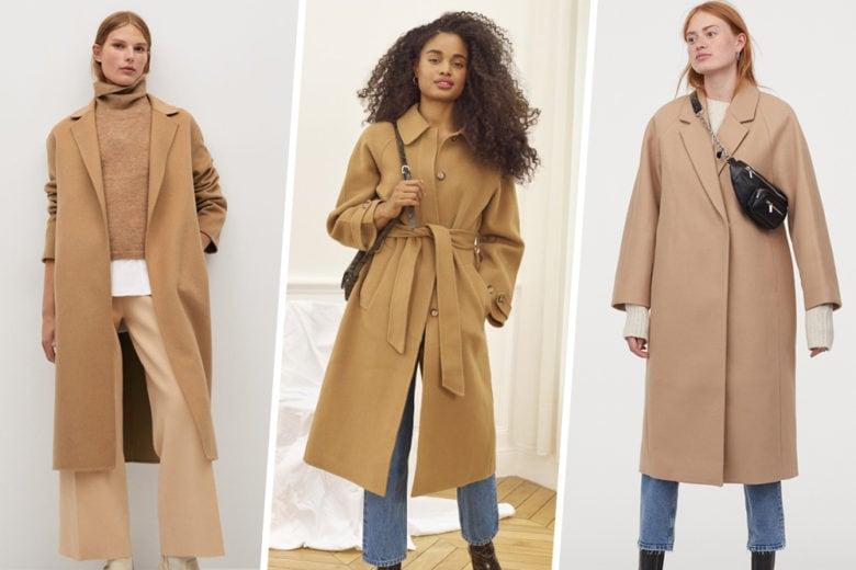 """Cappotto cammello: è (sempre) lui il nostro """"fashion crush"""" dell'inverno"""