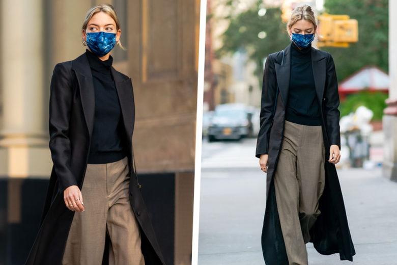 """Cappotto lungo? Sì, grazie! Quello """"minimal-chic"""" di Martha Hunt è già in wishlist!"""