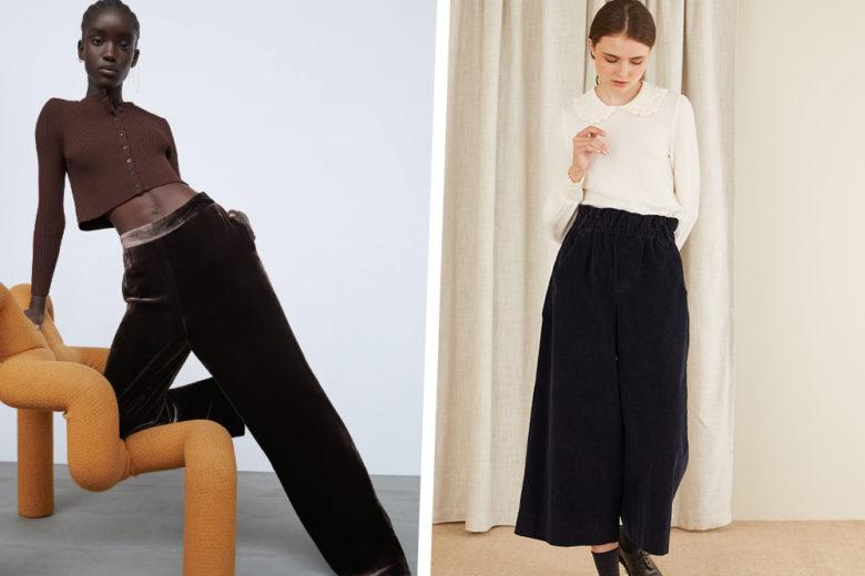 I pantaloni in velluto più chic di stagione sono già qui!