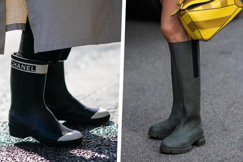 """Scende la pioggia ma che fa? Tanto abbiamo i """"rain boots"""" più belli di stagione!"""