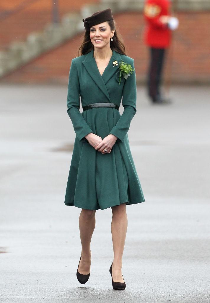 Kate Middleton in Emilia Wickstead