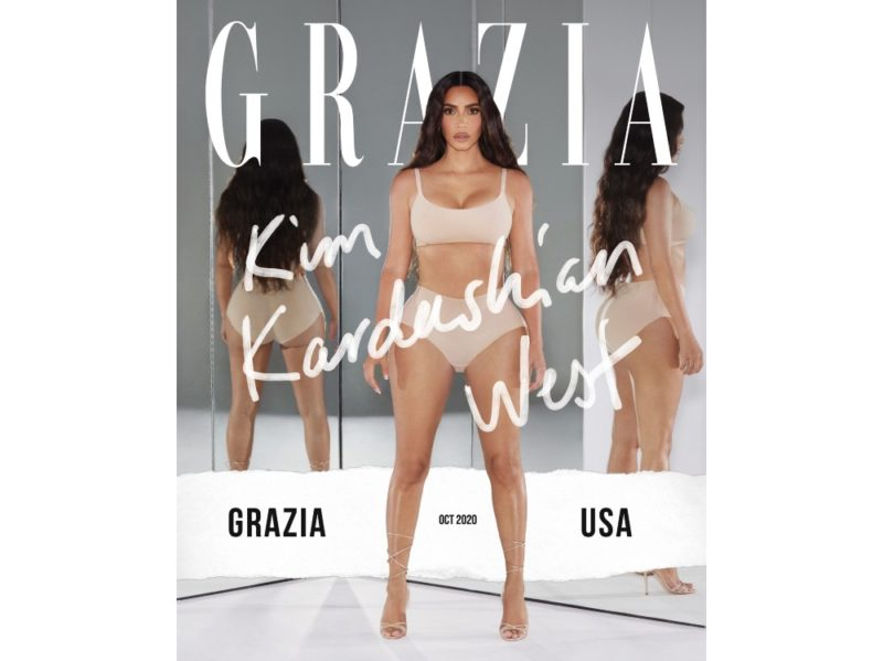 Grazia USA digital cover OK