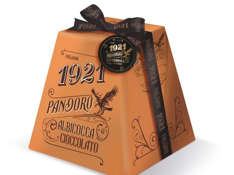Pandoro di Verona albicocca e cioccolato