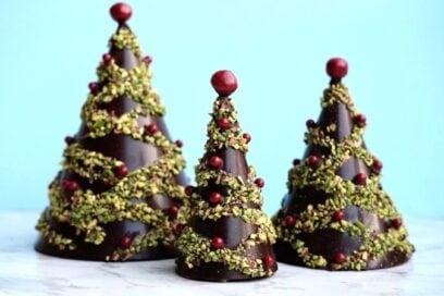 albero di natale cioccolato