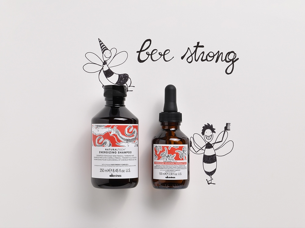 bee strong davines