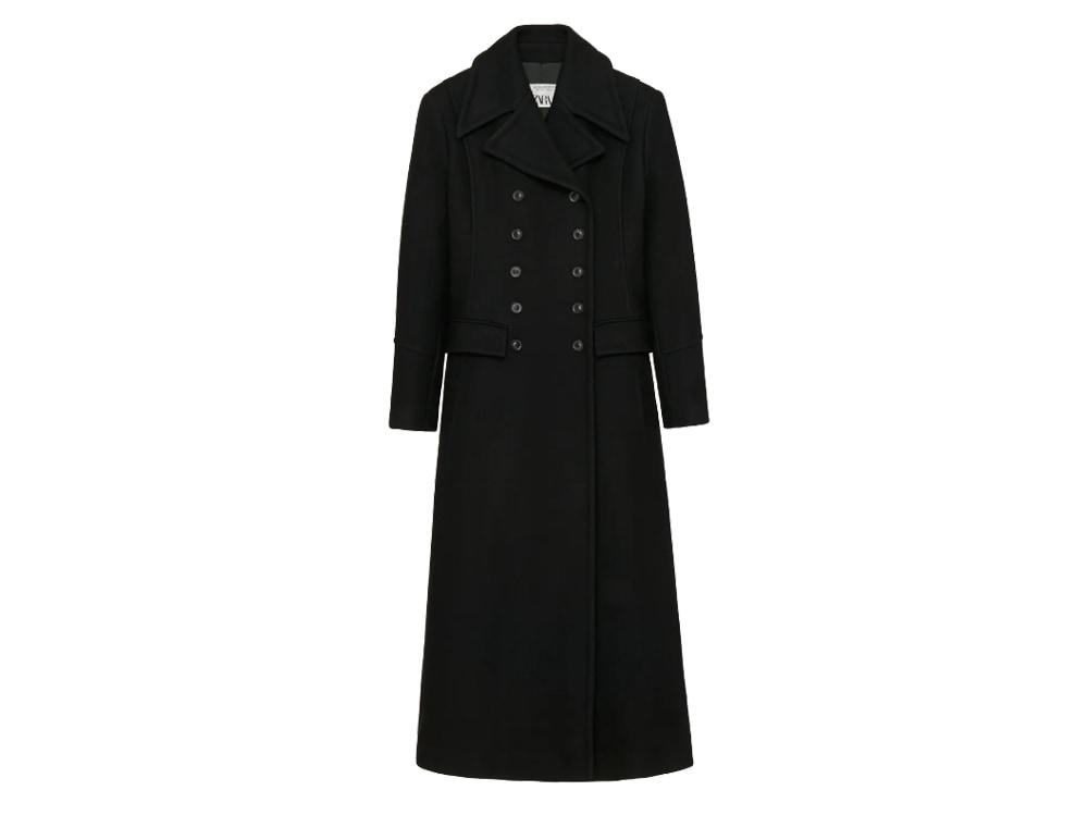 doppiopetto in lana limited edition zara