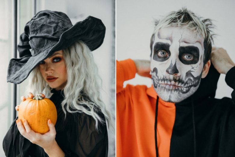 Trucco Halloween a casa: idee per un make-up…da paura