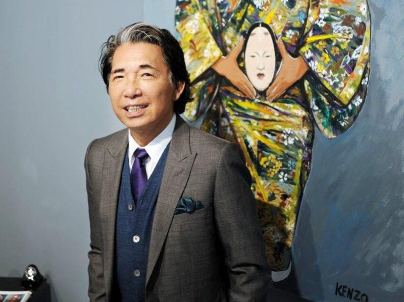 Addio a Kenzo: lo stilista è morto per le complicanze da Covid
