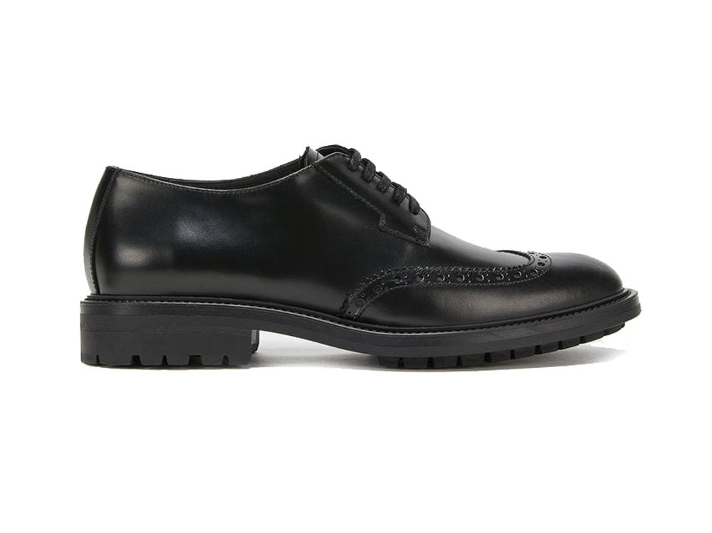marella-scarpe-stringate-in-pelle-nera