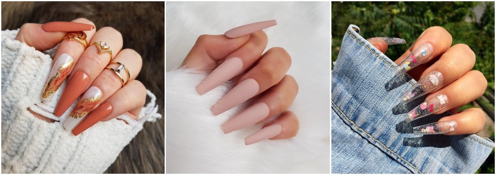 unghie a ballerina nails coffin manicure cover desktop