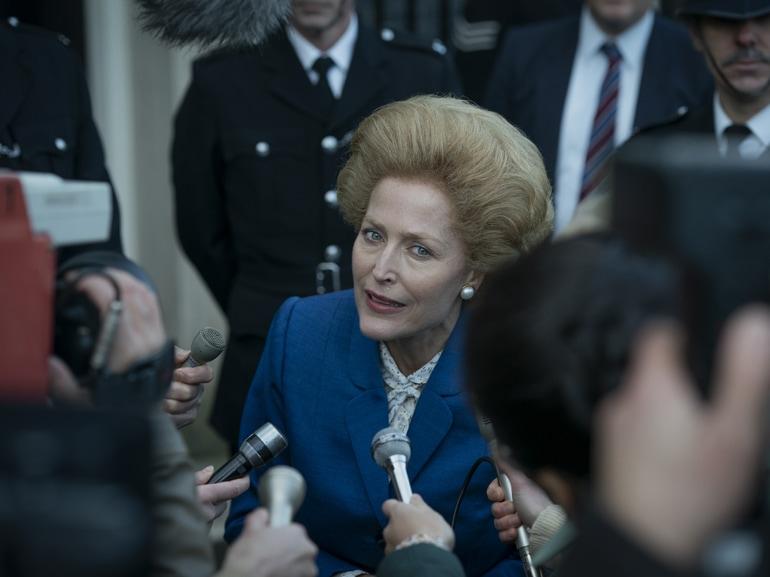 Margaret Thatcher the crown