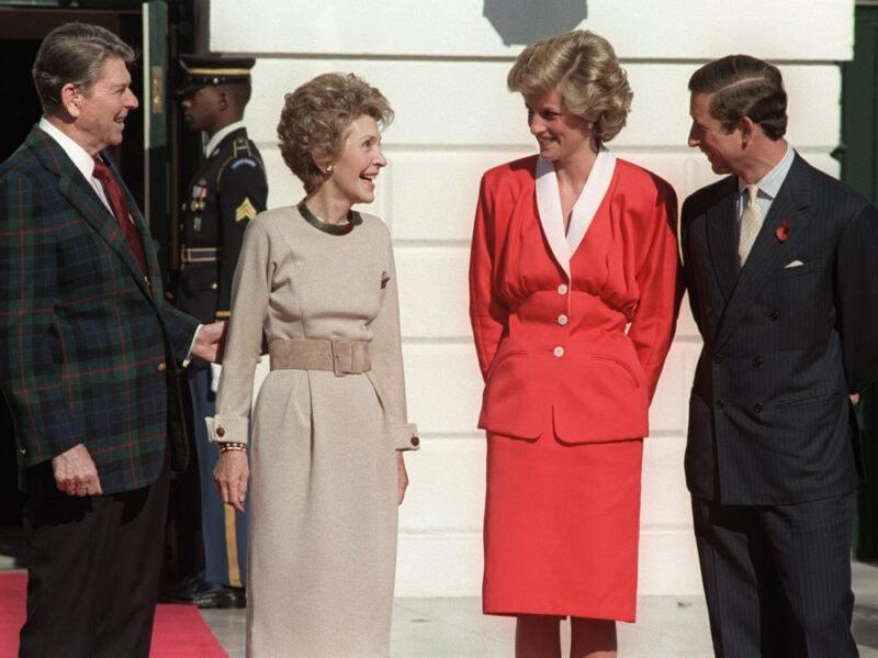 1985 incontro con i reagan