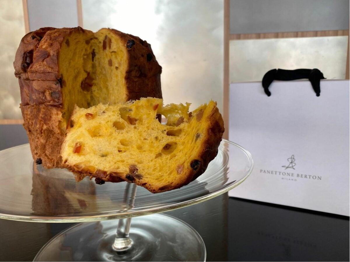 Andrea Berton chef stellato panettoni artigianali delivery consegna domicilio