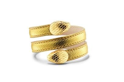 Bracciale–Bvlgari-Cleopatra–a-doppio-giro-in-karung-dorato-