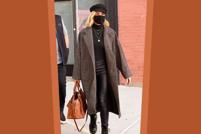 Il cappotto in lana oversize di Mango conquista Diane Kruger (e anche noi!)