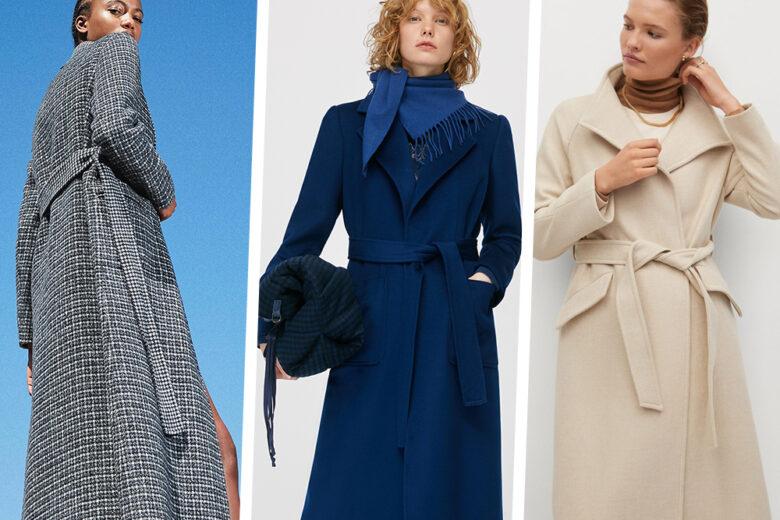 Cappotti vestaglia: ecco i modelli più chic da indossare questo inverno