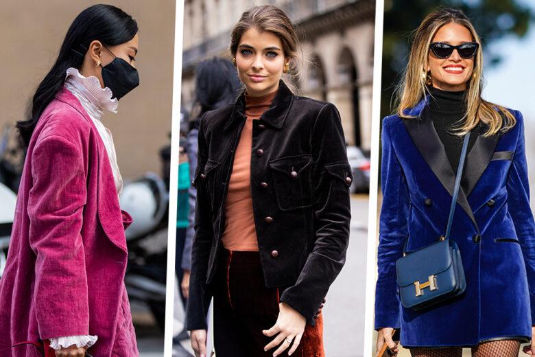 Velvet mania: 20 giacche in velluto perfette per l'autunno