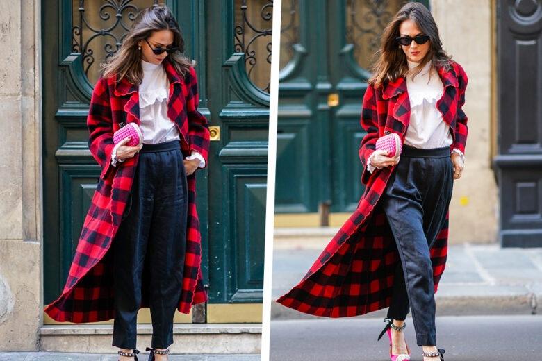 Tartan coat: ecco come abbinarlo per un look super glam!