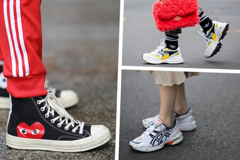 Sneakers anche d'inverno? Sì, grazie! 5 idee per abbinarle con stile
