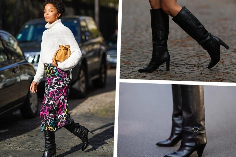 Stivali neri: tutti i modelli più hot dell'inverno 2020