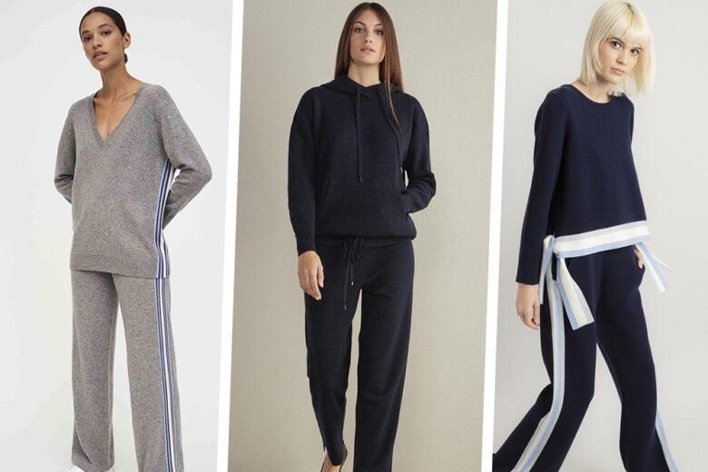 Tute in cashmere e maglia: 18 modelli comfy & chic per l'inverno