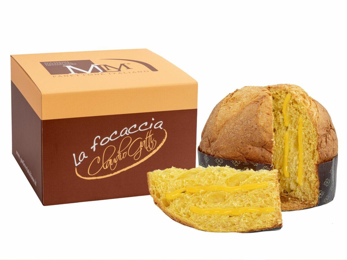 Focaccia Claudio Gatti panettoni artigianali delivery consegna domicilio