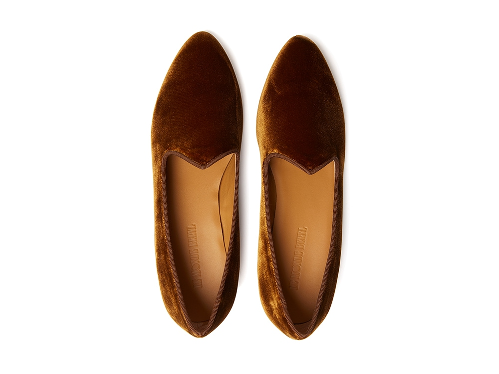 Le-monde-beryl-scarpe-venetian-slipper-velluto-ambra