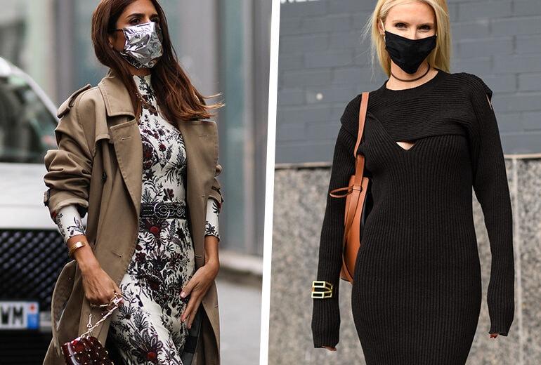 Abiti + mascherine: come indossarli assieme in 5 combo da provare