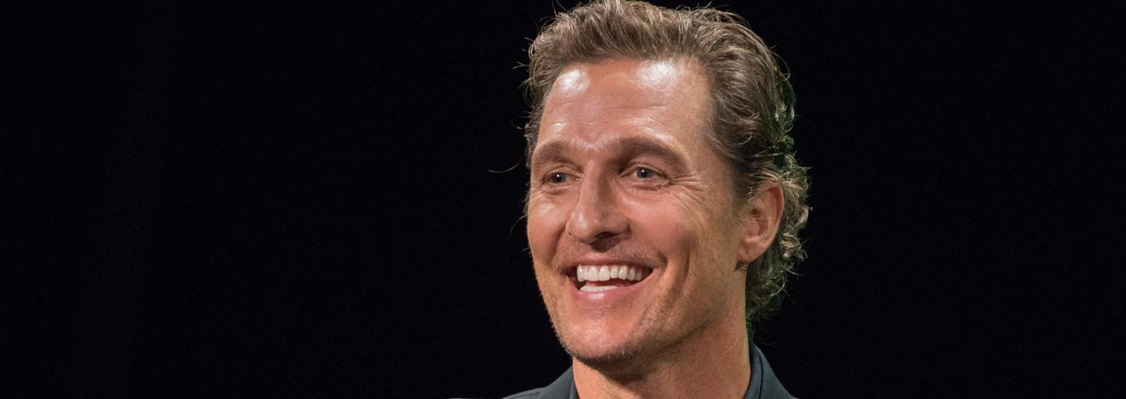 Matthew McConaughey hero