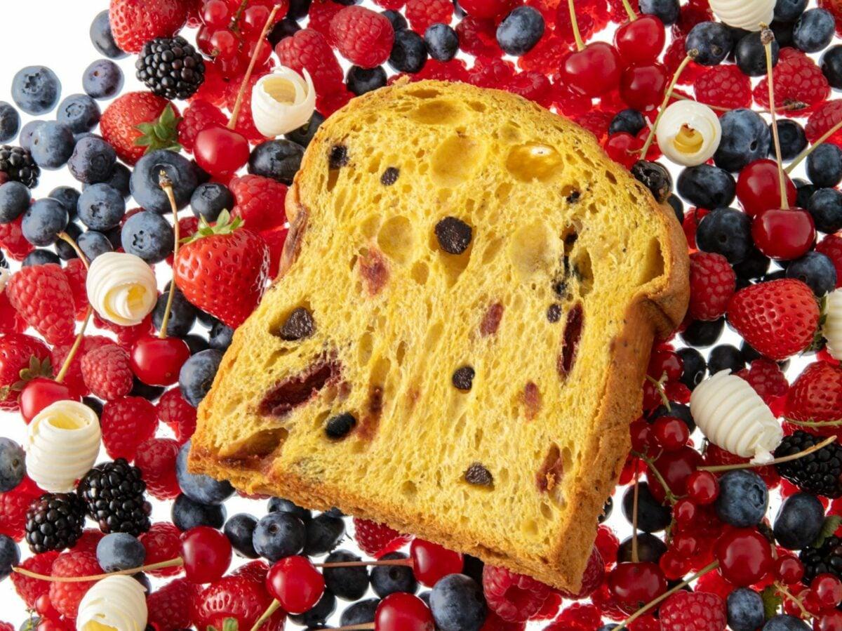 Panettone ai frutti rossi – AtelieReale – Ph. Davide Dutto