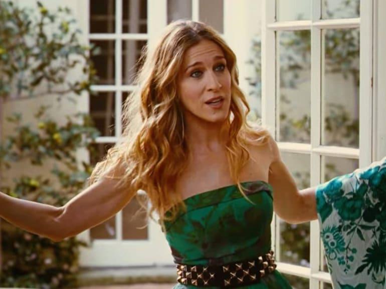 Sarah Jessica parker vestito verde