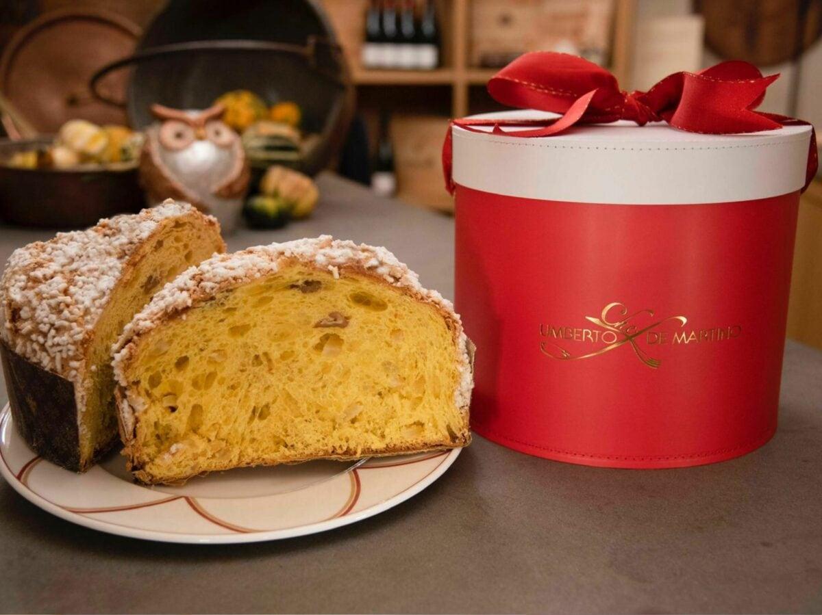 Umberto De Martino chef panettoni artigianali delivery consegna domicilio