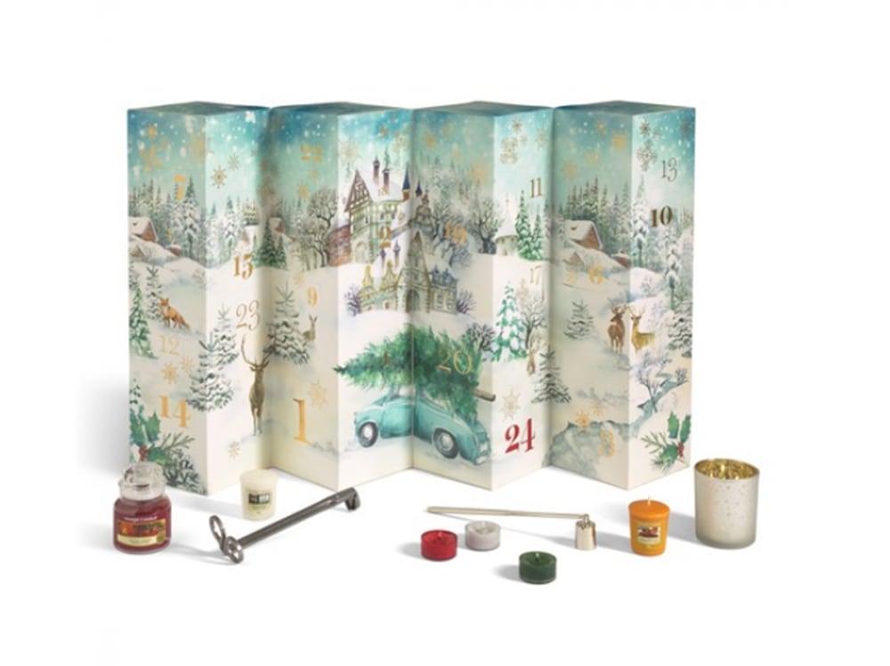 calendario avvento yankee candle
