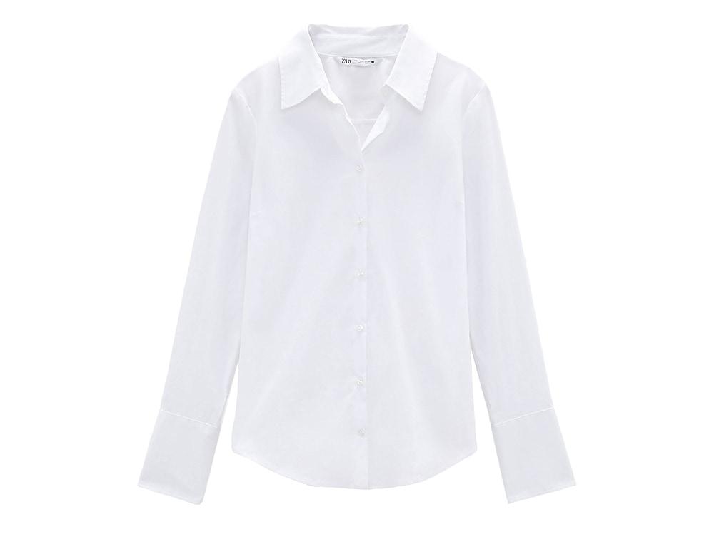 camicia bianca zara