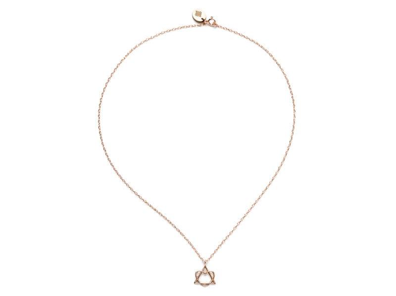 collana-TriHart-è-in-argento-925-bagnato-oro-rosa