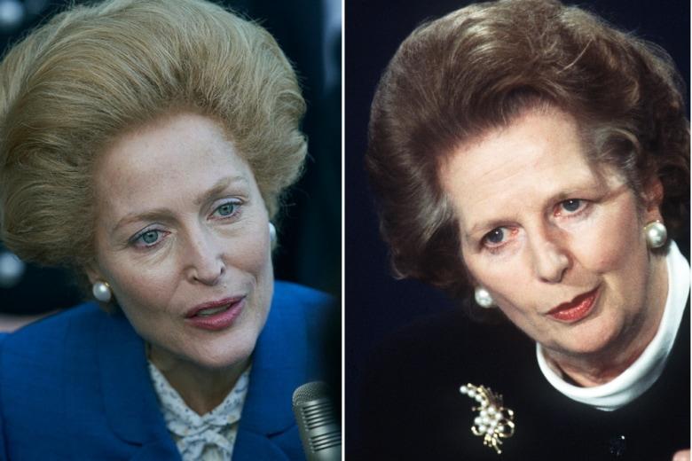 """Come cotonare i capelli: copia il look di Gillian Anderson in """"The Crown"""""""